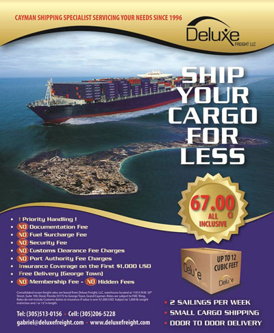 Deluxe Freight -ship your cargo less promo